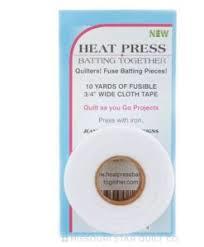 Heat Press batting Together - 0,75 inch
