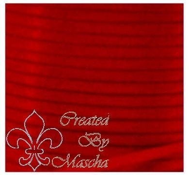 4 mm Rood satijnlint