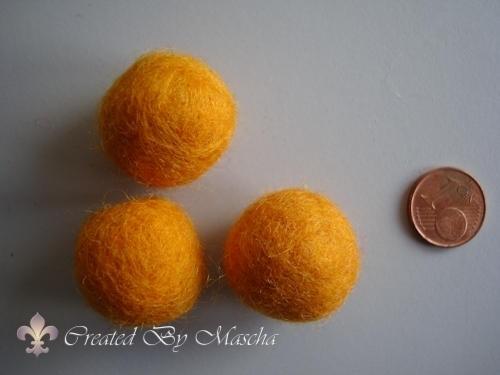 Wolkraal, 20 mm, geel