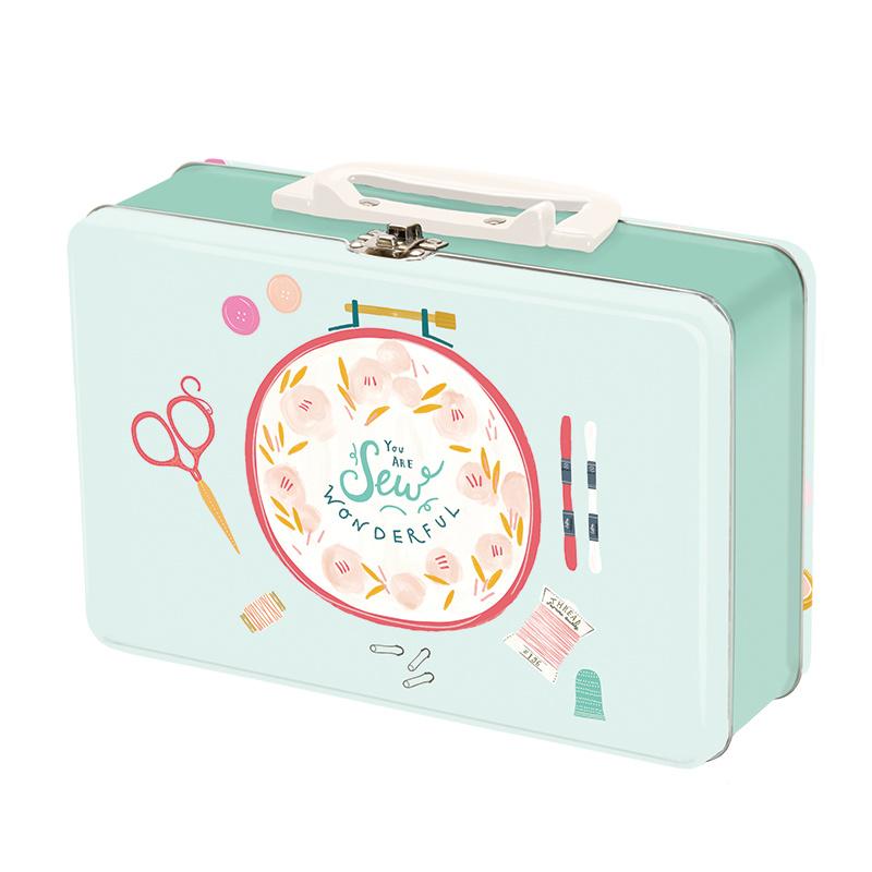 Sew Wonderful Snackbox Tin