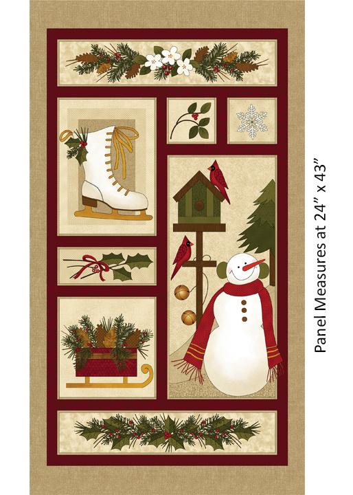 Winter Wonderland, 4650-99 Panel