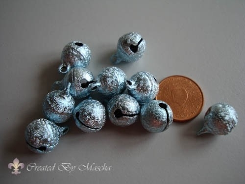 Pastel metallic, blauw, 11 mm