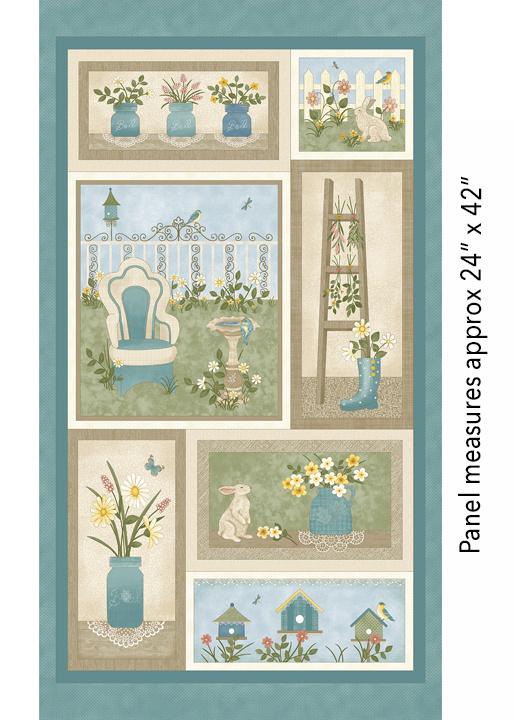 My Secret Garden Panel, 7680-99