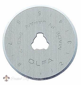 Olfa reserve-mesjes 28 mm, 2 mesjes