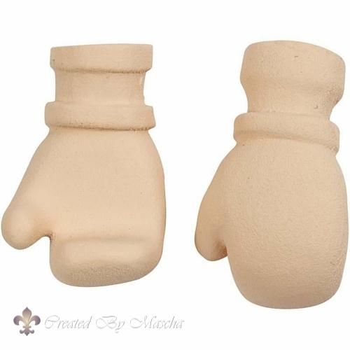 Keramiek handen, 25 mm