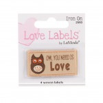 Owl You Need is Love, Quiltlabel