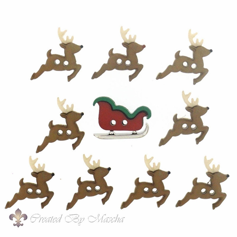 Sew Cute Sleigh/Reindeer