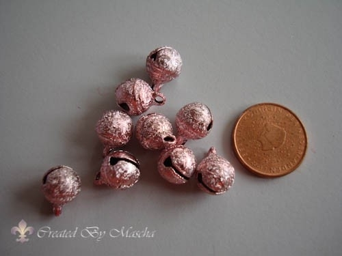 Pastel metallic, brons, 9 mm