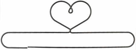 Quilthanger hart 61 cm, 24 inch