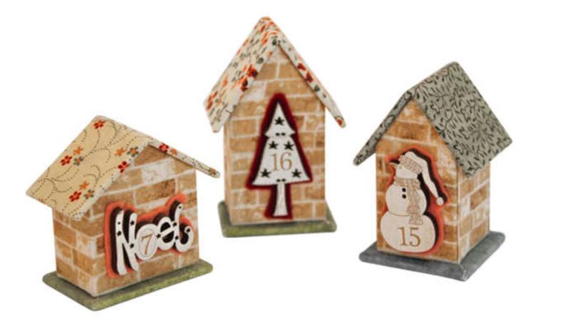 3 Mini Huisjes