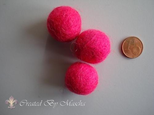 Wolkraal, 20 mm, roze