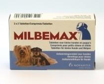 Milbemax kleine hond/pup      2 x 2 tabletten (filmomh.)