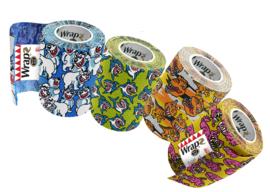 Wrapz  ChewyNoNO    variety pack      12 stks         zelfklevende bandage