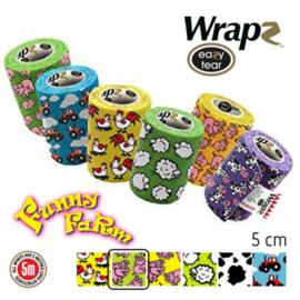 Wrapz  Funny Farm   12 stuks                                    zelfklevende bandage
