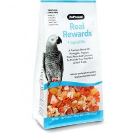 ZuPreem  Real Rewards     Tropical Mix      L        170 g
