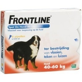 Frontline XL spot-on six-pack (6 pip.)
