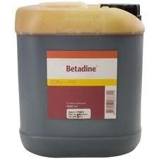Betadine oplossing   5 ltr