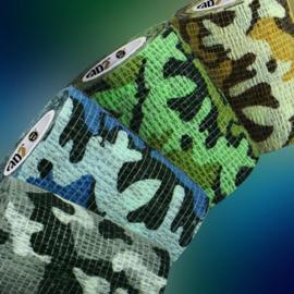 Wrapz Camo variety pack        12 stuks   zelfklevende bandage