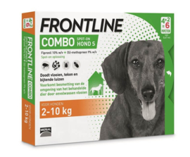 Frontline S combo dog spot-on    4 + 2 pip.