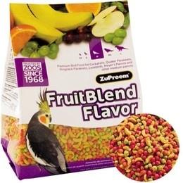 ZuPreem Fruit Blend     M   900 g