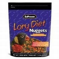 Zupreem     Lory Diet Nuggets 1,13 kilo