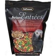 Zupreem      Entree Wild & Spicy Parrots  900 gr