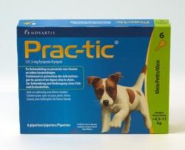 Prac-tic zeer kleine hond 2-4,5kg (3 pip.)