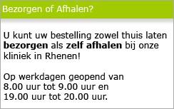 Bezorgen of Afhalen