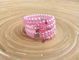 Roze armbanden