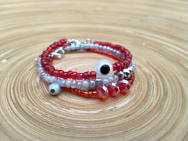 Rode armbanden