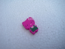 Houten Hello Kitty - fuchsia