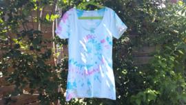 Handgeverfd t-shirt in maat 38