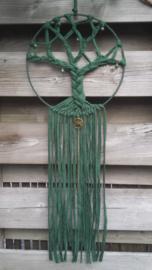 Groene dromenvanger levensboom  Maat L