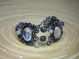 Armband in antraciet
