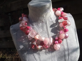Rose krulketting met Beadalon