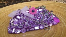 Handtasje in paars