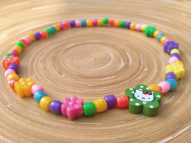 Hello Kitty kinderketting op elastiek