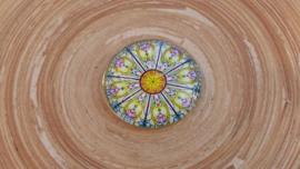 4 Kleuren cabochon 25 mm