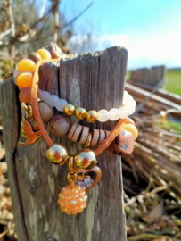 Oranje armbanden