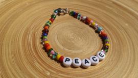 Ibiza letter-armbandje ' peace '