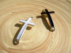 Connector wit metalen kruis met epoxy