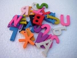 Laatste houten lettermix