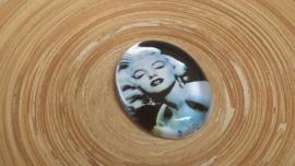 Grote cabochon met Marilyn Monroe