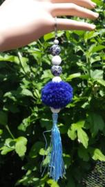 Donkerblauwe tashanger