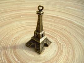 Grote metalen 3D bedel in bronskleur