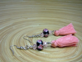 Lampwork oorbellen