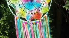 Regenboog dromenvanger Maat M