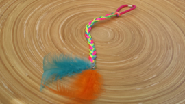 Multi-kleurig Ibiza-Style haarbandje