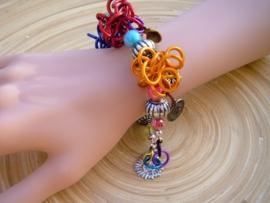 Vrolijke Wire armband
