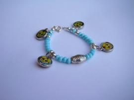 Blauw armbandje-Matroesjka